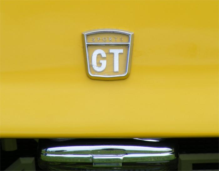 Universal Power Drives Ltd - Unipower GT. GT badge